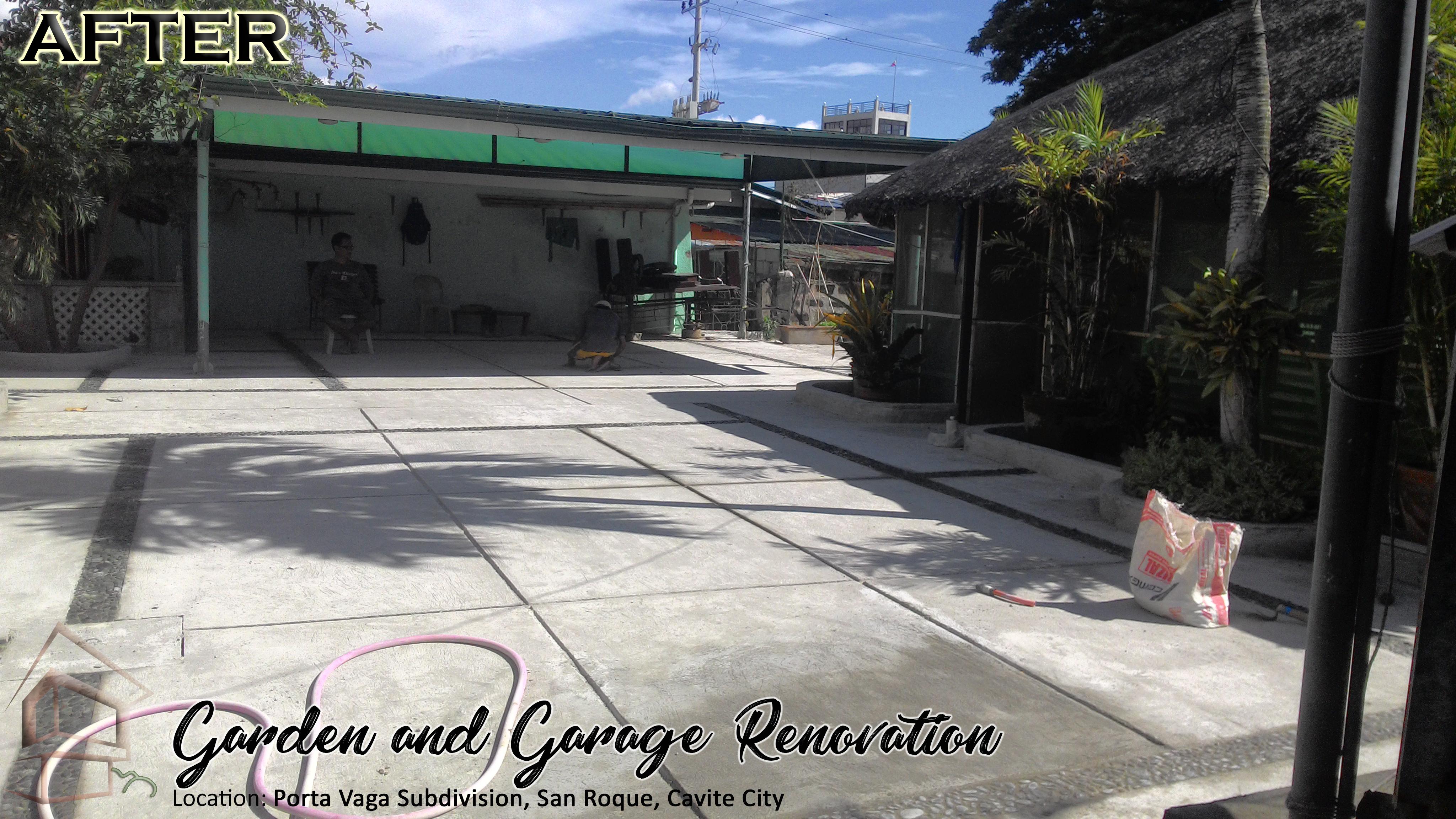Porta Vaga Garden And Garage Area Renovation Xjg
